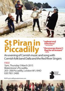 Or join us on St Piran's day at Waterstones with a barrel of beer!