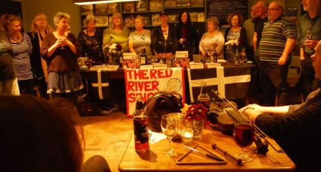 Red Rivers launching Shout Kernow at Waterstones in Piccadilly